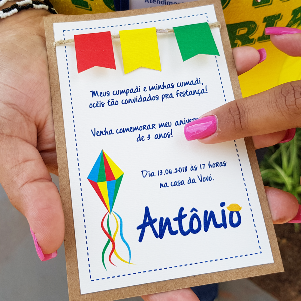 Convite Antônio