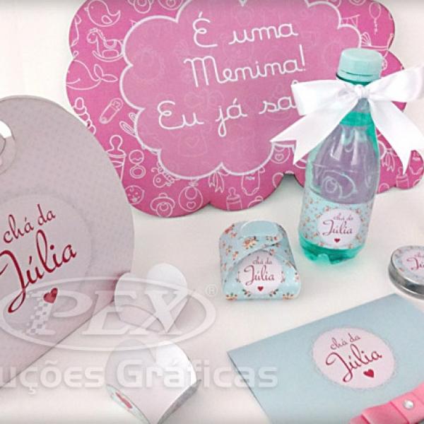 Chá de Fraldas da Julia