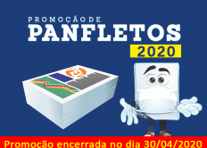 Promoção de Panfletos 2020 (encerrada)